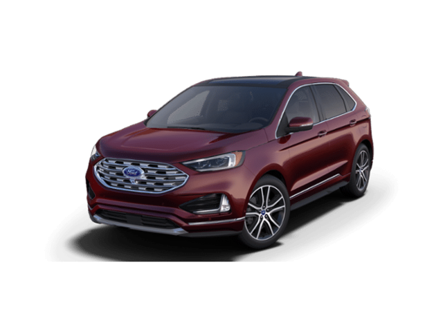 New 2019 Ford Edge Titanium SUV for sale at your Charlottesville VA used Ford authority